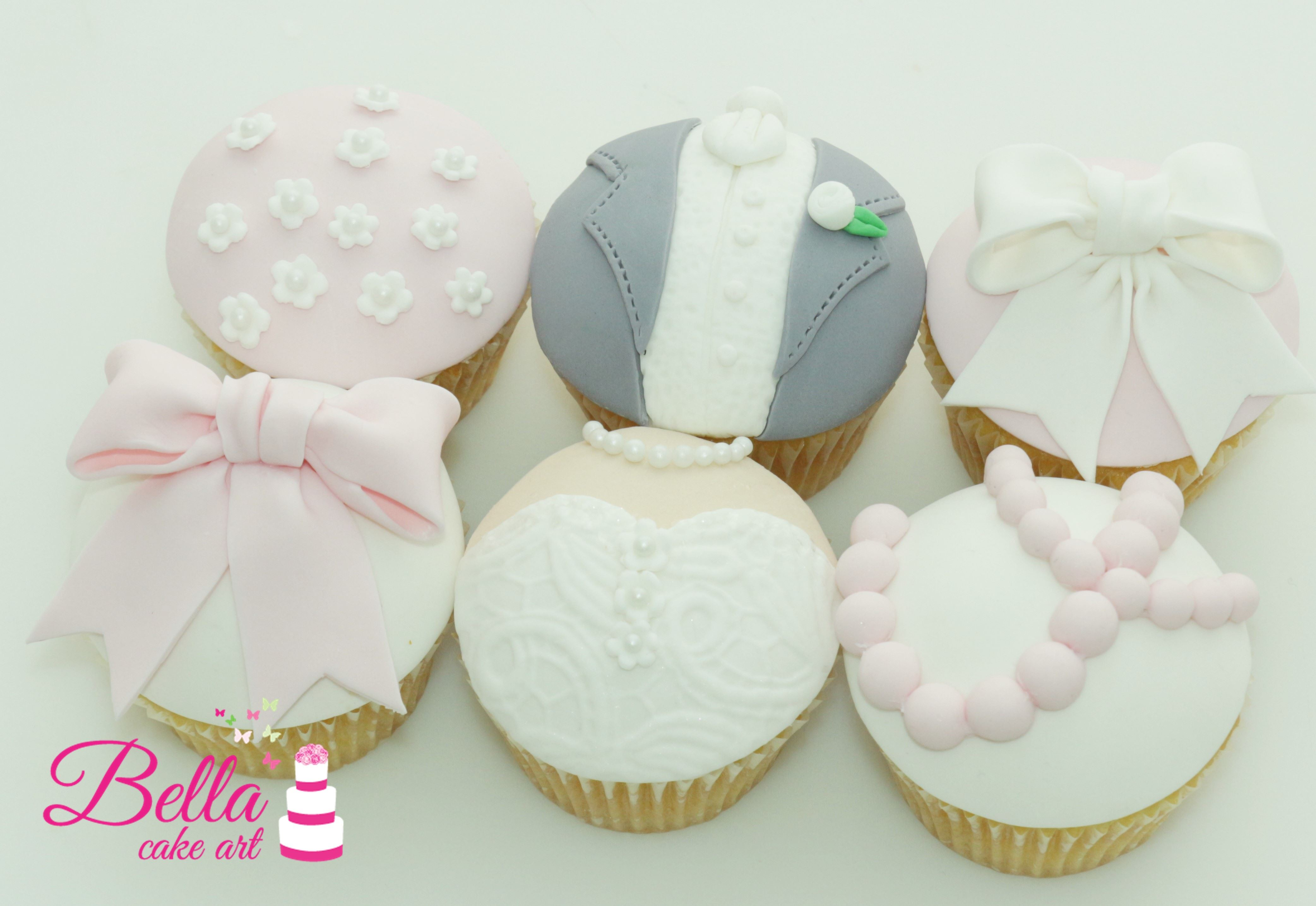 Wedding Themed Cupcakes